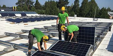 Aurinkopaneelien hankkiminen