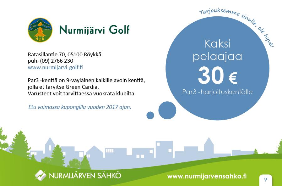 Nurmijärven Golf-par3 harjoituskenttä