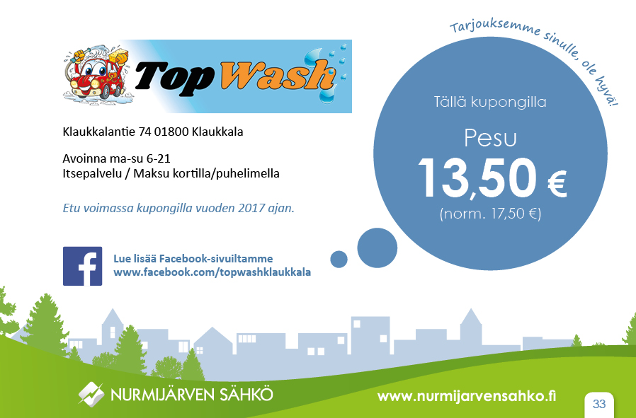 Top Wash-pesu