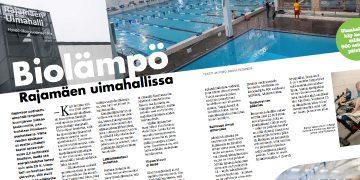 Biolämpö Rajamäen uimahallissa