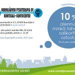 Nurmijärven fysioterapia-alennuskuponki